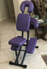 Oakworks Massage Chair and Bag - Perfect Condition! in Kingwood, Texas