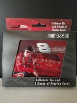 NIB!  Dale Earnhardt Jr #8 NASCAR Bicycle Playing Cards in Collectible Tin in St. Charles, Illinois