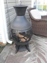 Chimenea with Cover and Some Wood! in Fort Campbell, Kentucky