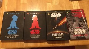 Set of four Star Wars Books in Kingwood, Texas