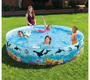 Intex 8ft X 18inch Snapset Pool(new in the box) in Okinawa, Japan