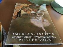 Impressionists Posterbook in Ramstein, Germany