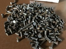 Assorted Solid Steel Flathead Rivits and some Aluminum in Ramstein, Germany