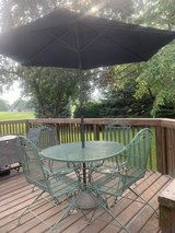 Wrought Iron Table and Chairs in Bolingbrook, Illinois