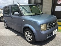 $900 '04 NISSAN CUBE 3 JCI IS GOOD UNTIL JUNE 2023 ROAD TAX FOR 2021 PAID!! in Okinawa, Japan