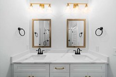 24 x 36 Gold Mirrors in Fort Campbell, Kentucky
