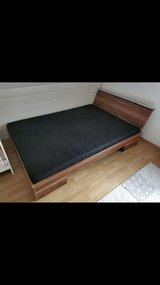 Quuen size bed in Ramstein, Germany