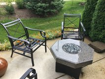 Metal Rocking Patio Chairs - Set of 4 in Bolingbrook, Illinois