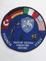 military patches in Ramstein, Germany