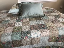 Twin reversible quilt in Bolingbrook, Illinois