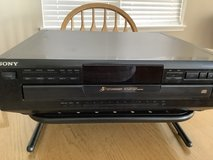 Sony 5 disc CD player with stand in Bolingbrook, Illinois