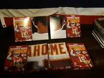 Mahomes collectables cereal box puzzle in Ramstein, Germany