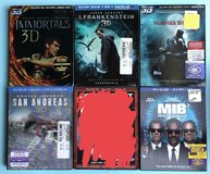 3D Blu-Ray Movies in Fort Campbell, Kentucky
