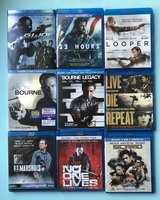 Blu-Ray Movies $5 EACH  or 5/$20 in Fort Campbell, Kentucky