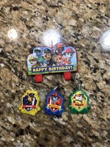 Paw Patrol Birthday Candles in St. Charles, Illinois