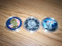 biden and trump and obama coins in Fort Knox, Kentucky
