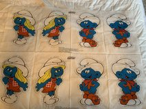 Smurf's pillow fabric (for sewing) in St. Charles, Illinois