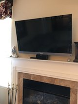 """SONY BRAVIA LCD DIGITAL COLOR TV - MODEL 46EX500 - 46"""" - MOUNTED ON WALL in Plainfield, Illinois"""