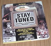 NEW 2002 Stay Tuned TVs Unforgettable Moments Hard Cover Book + 2 CDs + 1 DVD in Joliet, Illinois