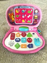 Vtech Brilliant Baby Laptop Pink Letters Numbers Shapes Sounds in Joliet, Illinois