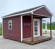 10x16 Cabin shell in Fort Campbell, Kentucky
