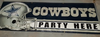 Cowboy Banner in Ramstein, Germany