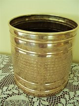 Copper / Brass Plant Container in Lackland AFB, Texas
