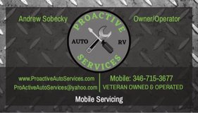 mobile mechanic and rv services in Kingwood, Texas