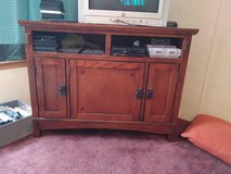 End tables and entertainment center in Rolla, Missouri