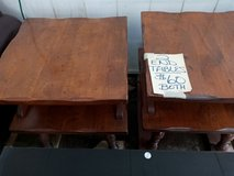 2 Double Tiered End Tables in Warner Robins, Georgia