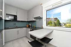 3 room apartment with fully equipped kitchen, garage & balcony in Möhringen in Stuttgart, GE