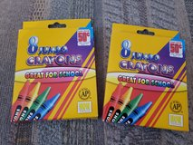 2 - 8 packs of Jumbo Crayons, NEW, Non Toxic.  You choose how many you want. in Warner Robins, Georgia