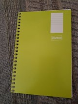 """1 - 6"""" x 4"""" spiral notebook.  NEW.  Great for assignments, notes, or journaling. in Warner Robins, Georgia"""