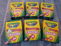 6 - 24ct Crayola crayons, non toxic, NEW.  You choose how many you need. in Warner Robins, Georgia