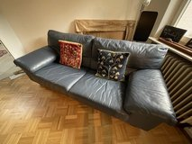 Leather Couch in Wiesbaden, GE