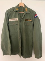 Modified 1950s US Army Fatigue Shirt OG-107 in Stuttgart, GE