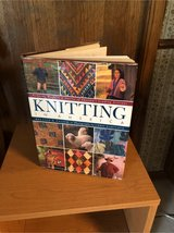 knitting hard cover book in Naperville, Illinois