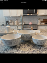 Rae Dunn Easter Mixing Bowls in Alamogordo, New Mexico