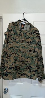 MS MARPAT only used 3 times in Camp Pendleton, California
