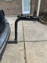 Hitch mount bicycle carrier in Kingwood, Texas