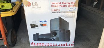 LG Blu-ray and surround sound system in Camp Pendleton, California