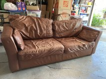 Most Comfortable Leather Couch Sofa in Naperville, Illinois