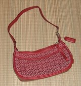 Coach Small Red Hand Bag Purse in Joliet, Illinois