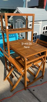 Table and Two chairs (New) in Fort Leonard Wood, Missouri