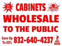 Upgrade your Cabinets for Less in Conroe, Texas