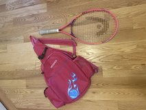 Jr tennis racquet and bag in Naperville, Illinois