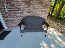 Patio chair with pillows in Rolla, Missouri