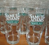 NEW Set of 15 Samuel Adams White Ale 16 oz. Pint Size Drinking Glasses Lager Beer in Joliet, Illinois