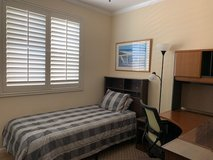 Furnished Single Bedroom with TwinXL Bed: Ideal for Military (Oceanside) in Camp Pendleton, California