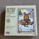 """NEW Boyd's Bears, Manheim The """"Eco-Moose """" Holiday Stamp Kit in Naperville, Illinois"""